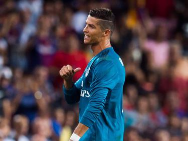 Cristiano Ronaldo sah im Supercup die Rote Karte