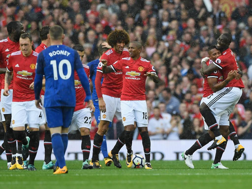 Manchester United im Gleichschritt mit City