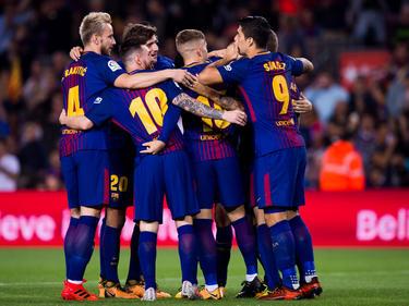 Große Freude beim FC Barcelona