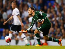 Tottenhams Torhüter Hugo Lloris wollte einen Wechsel zu Manchester United realisieren