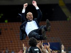 Bei den Spielern beliebt: Zinedine Zidane