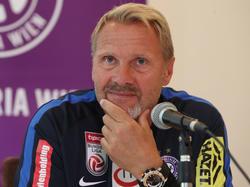 Austria-Trainer Thorsten Fink kann, will aber nicht auf den geglückten Saisonstart zurückblicken. Der Fokus gilt der nächsten Aufgabe: Aufsteiger St. Pölten