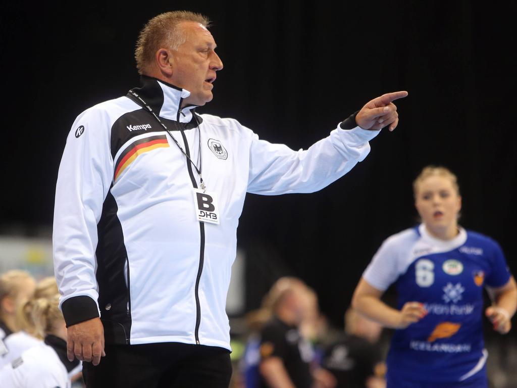 Vorbereitung auf die EM: Bundestrainer Michael Biegler