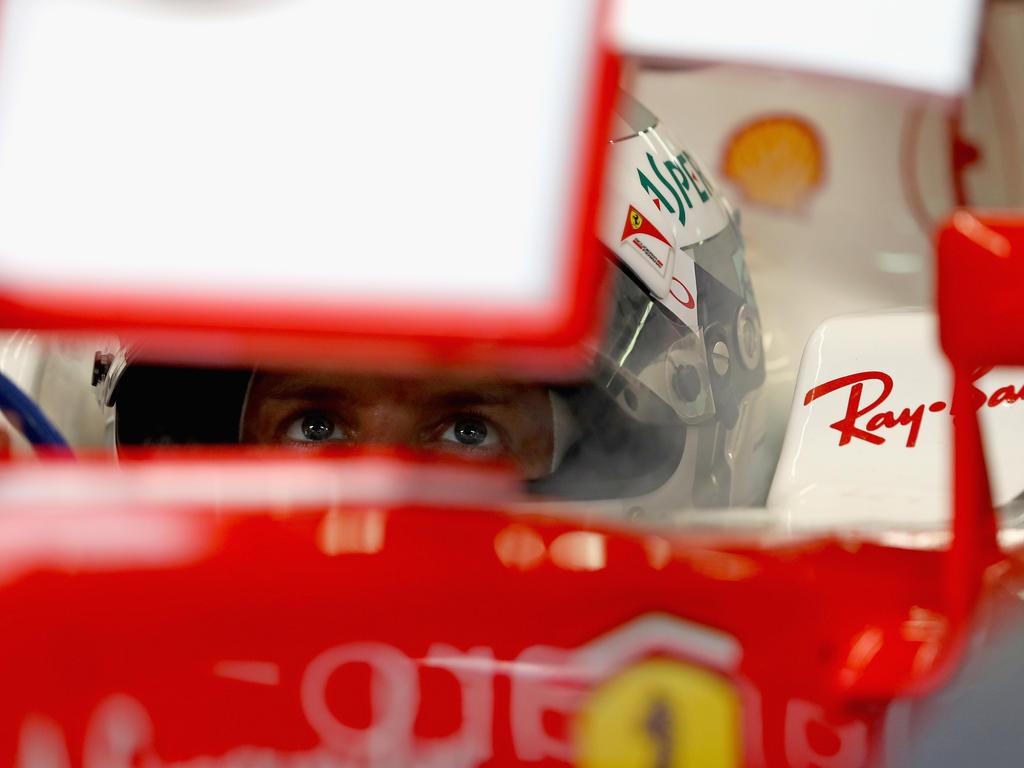Sebastian Vettel droht mit Ferrari in Sepang ein persönlicher Negativrekord