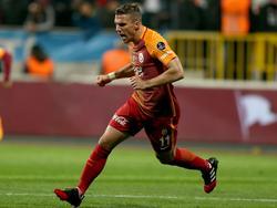 Galatasaray-Star Lukas Podolski glaubt, dass RB Leipzip weiter eine gute Rolle in der Bundesliga spielen wird