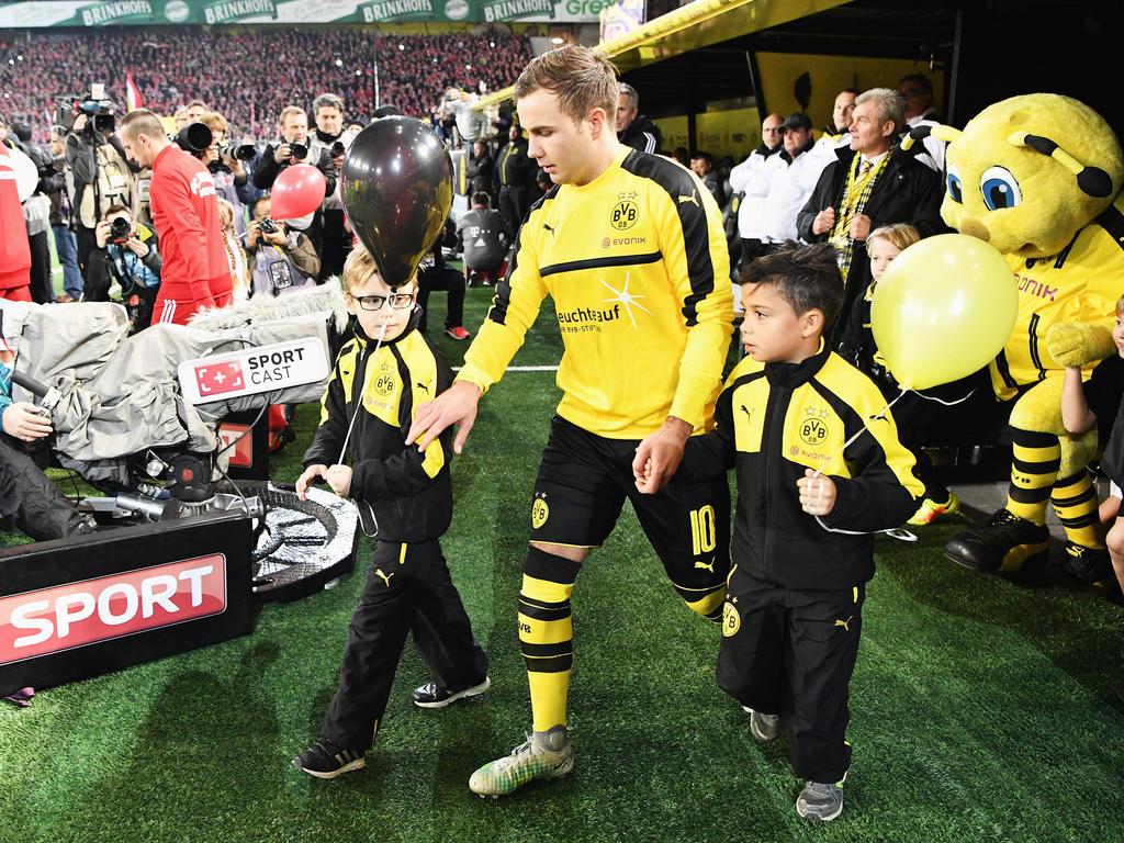 Mario Götze no volverá a jugar para el Dortmund hasta la temporad 2017-2018. (Foto: Getty)