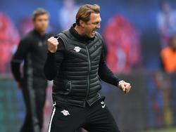 Ralph Hasenhüttl will auch auf Schalke jubeln