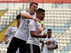 Die deutsche U 17 steht im EM-Halbfinale