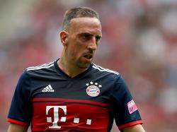 Franck Ribéry ist mit der vergangenen Saison nicht komplett glücklich