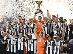 La Juventus celebra la pasada liga de la Serie A. (Foto: Getty)
