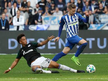 El Hertha cayó contra el Schalke 04 por 0-2 en su estadio. (Foto: Getty)