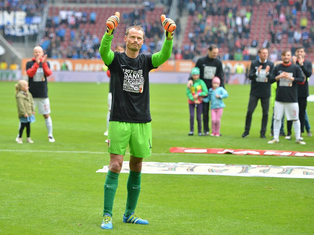Nach seinem Abschied aus Augsburg hat Alexander Manninger nun einen neuen Verein gefunden