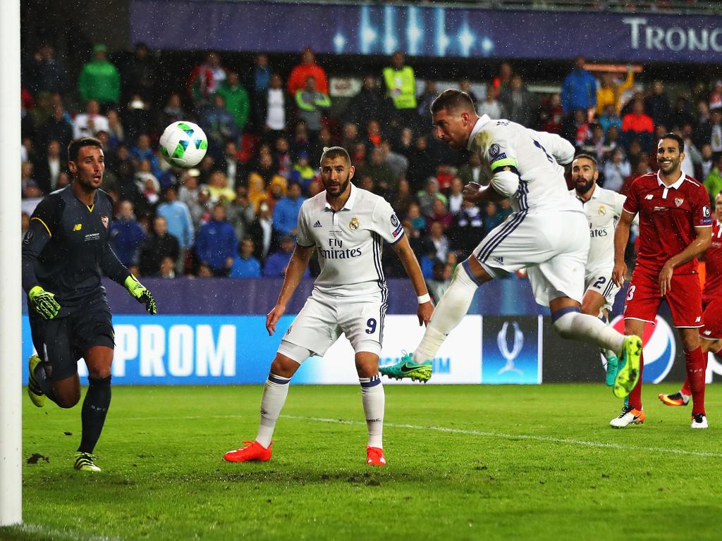 Sergio Ramos köpfte Madrid in die Verlängerung