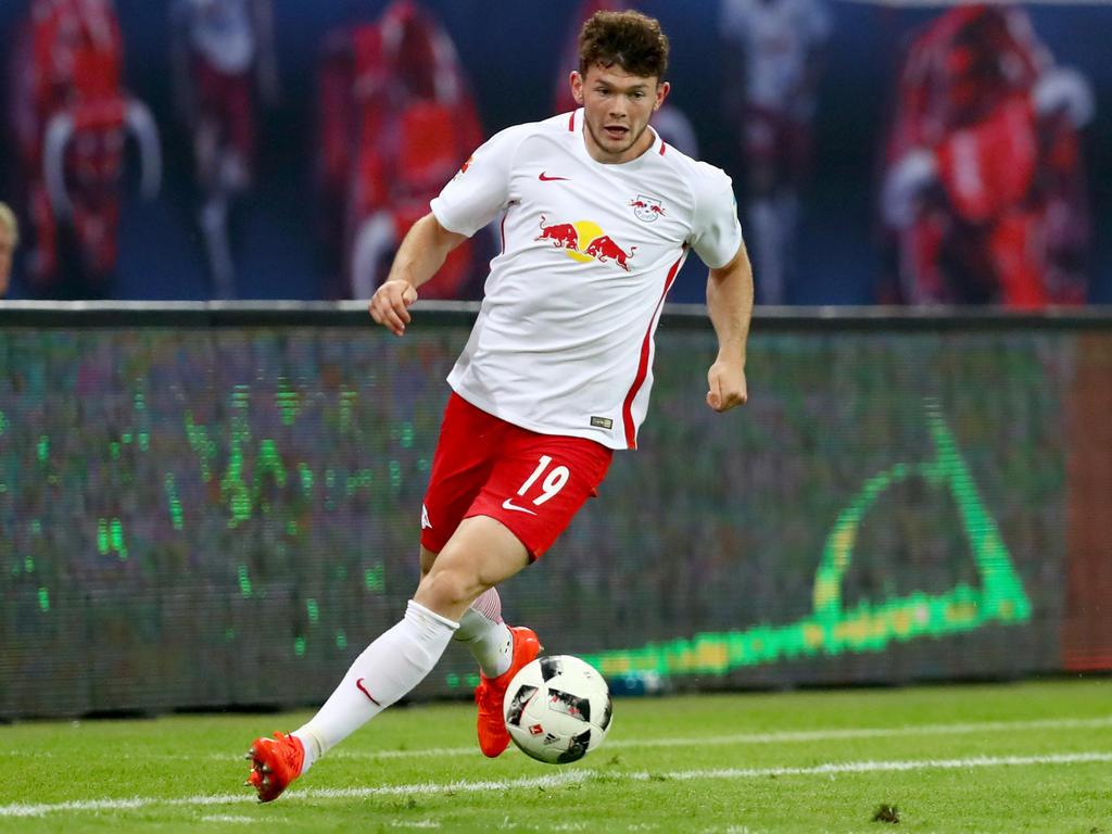 Oliver Burke von RB Leipzig kommt in Deutschland gut zurecht