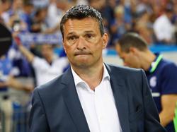 Christian Heidel kritisierte die Schalker Mannschaft scharf