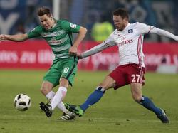 Nach dem Nordderby kommt es für Bremen und den HSV auch dieses Wochenende zu Abstiegsduellen