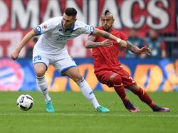 Niklas Süle (l.) und Arturo Vidal werden nächste Saison zusammen spielen
