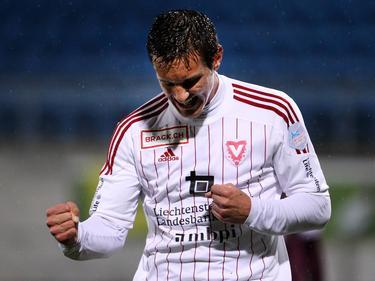 Manuel Sutter traf für Vaduz im Cup-Finale doppelt