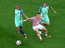 Viel Kampf, viel Krampf: Kroatien fand gegen extrem defensive Portugiesen keine Mittel