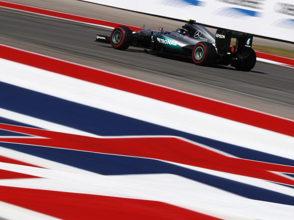 Nico Rosberg will sich in den USA den Sieg sichern