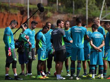 Chapecoense volvió a los entrenamientos. (Foto: Getty)