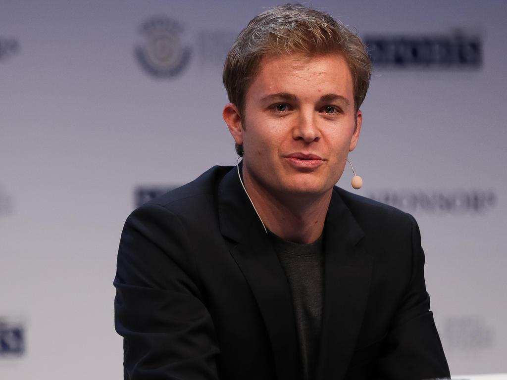 Außer zum Test in Barcelona hielt sich Rosberg bisher von der Rennstrecke fern