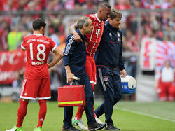 Bayerns Abwehrchef Jérôme Boateng fällt wochenlang aus