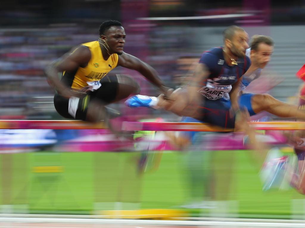 110 m Hürden: Frustrierter Bühler im Halbfinale ausgeschieden