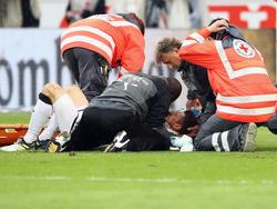 Christian Gentner brach sich gegen Wolfsburg mehrere Gesichtsknochen