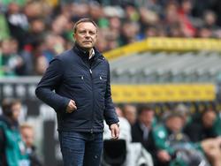 André Breitenreiter und Hannover 96 wollen in der Tabelle an Leipzig vorbei ziehen