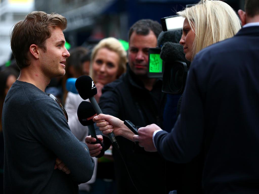 Nico Rosberg hofft auf mehr Emotionen im Fernsehen