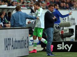 Nicklas Bendtner ist bei Wolfsburg nicht mehr gefragt - dass er gehen darf, ist dennoch unwahrscheinlich