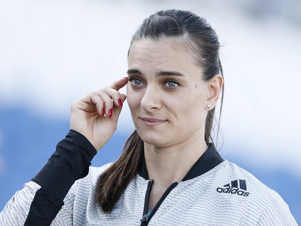 Isinbayeva Losfee bei Confed-Cup-Auslosung