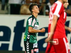 Mathias Honsak rettete Ried im Heimspiel gegen die Austria einen Punkt