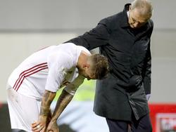 Sergio Ramos verletzte sich am Knie