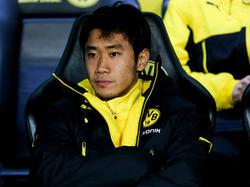 Shinji Kagawa wärmt in Dortmund meist nur die Ersatzbank