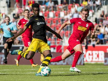 Dortmunds Alexander Isak traf vierfach gegen RW Erfurt