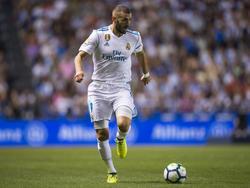 Benzema se podrá concentrar en el Real Madrid. (Foto: Getty)