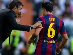 Xavi steht beim FC Barcelona vor dem Abflug