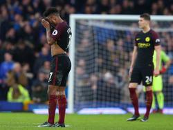 Manchester City ging gegen den FC Everton unter