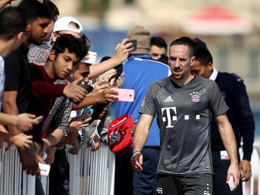 Franck Ribéry hat im letzten November beim FC Bayern bis 2018 verlängert