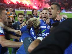 Der RC Strasbourg ist wieder erstklassig