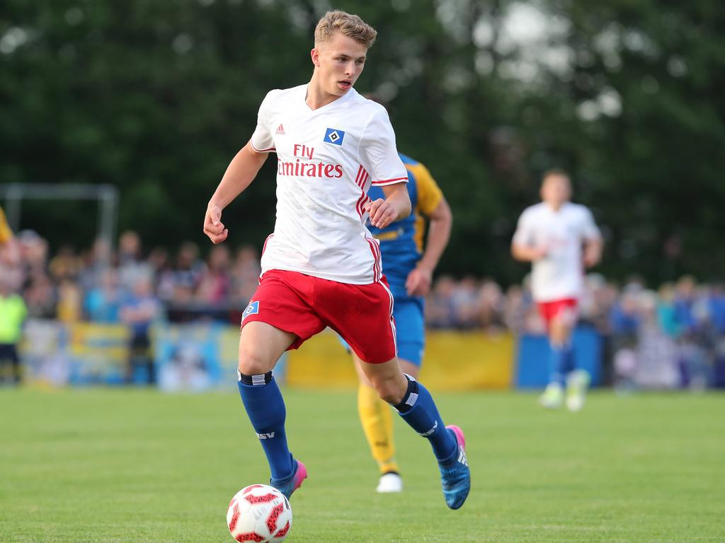 HSV bindet Top-Talent Arp bis 2019