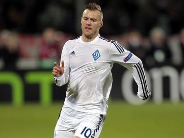 Andriy Yarmolenko spielt seit 2008 für Dynamo Kiew
