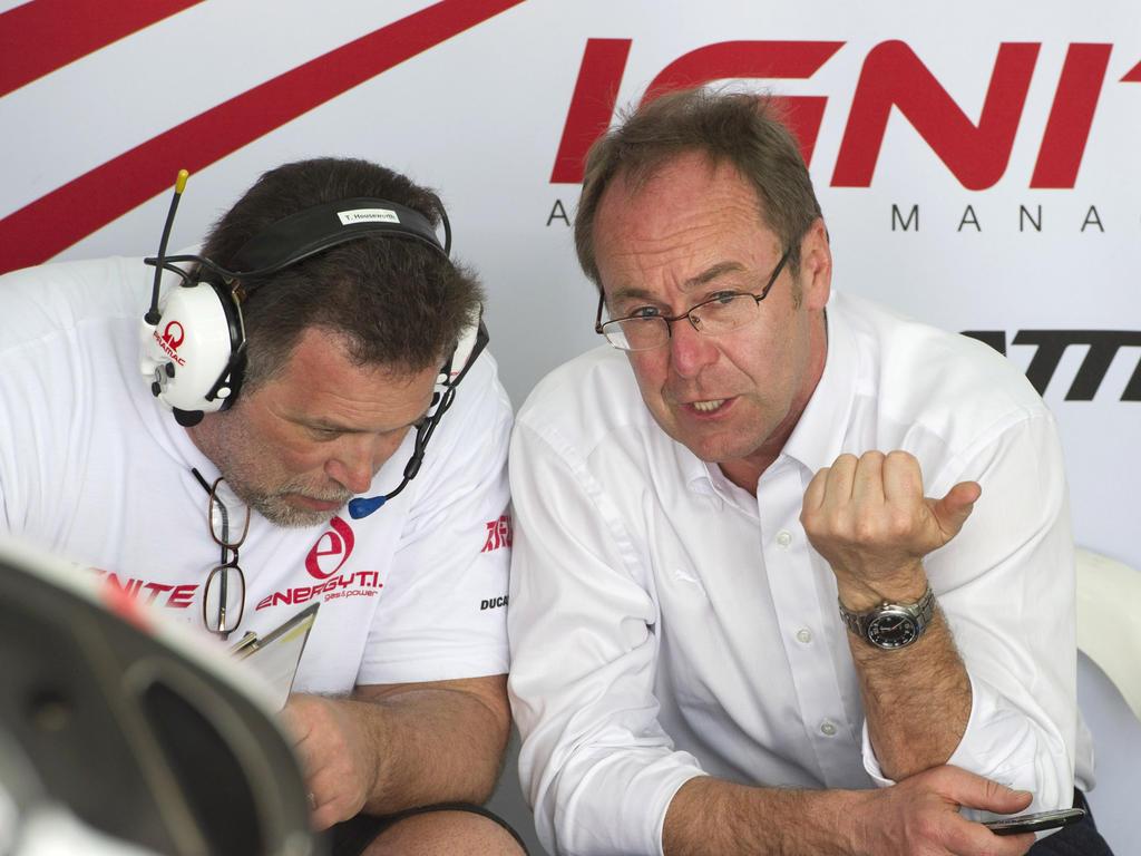 Gobmeier (r.) bleibt einem Formel-1-Einstieg gegenüber skeptisch eingestellt