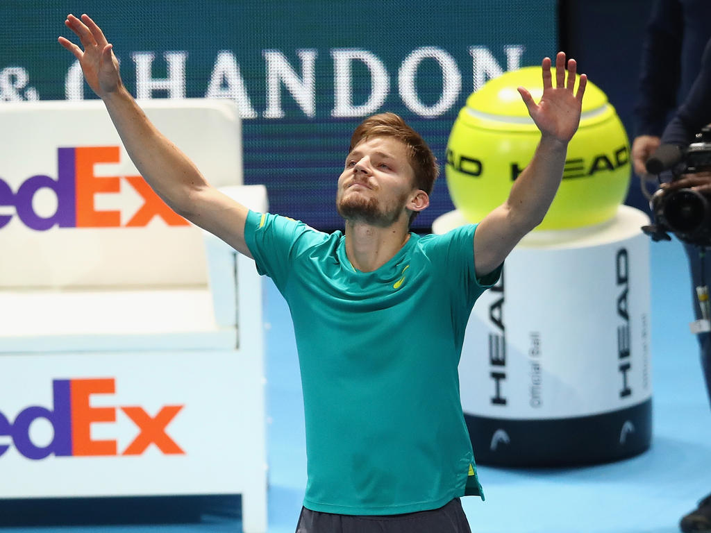 Goffin stoppt Federer im Halbfinale — ATP Finals