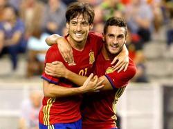 David Silva schnürt gegen Belgien einen Doppelpack
