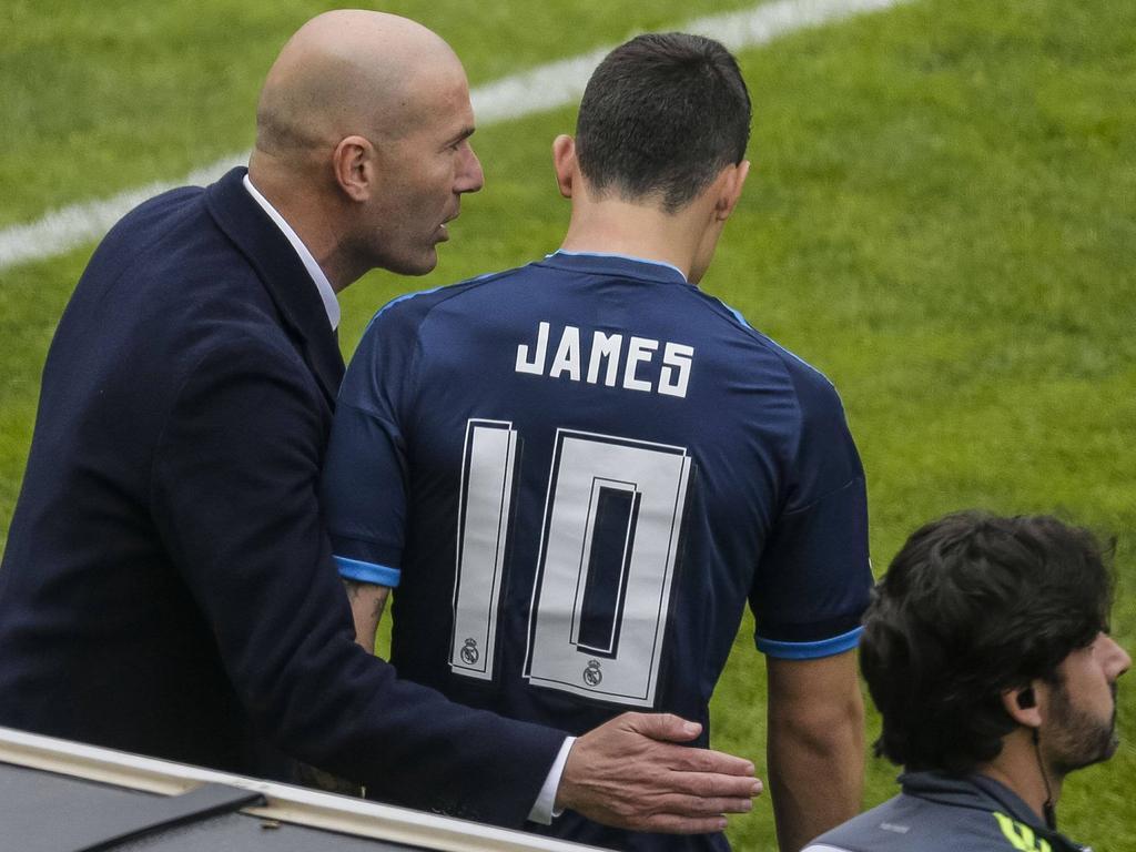 Zidane baut weiter auf James Rodríguez