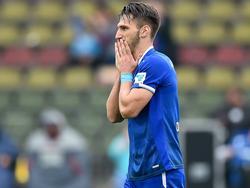Dimitrios Diamantakos ist nach dem Unentschieden enttäuscht