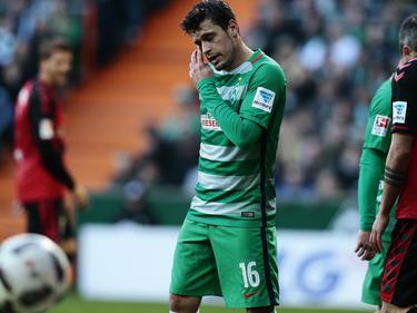 Zlatko Junuzović könnte wegen eines grippalen Infektes für Werder Bremen ausfallen
